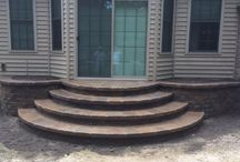 Block Step Portfolio / Precision Corporation designs and installs steps and staircases.