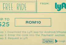 Lyft Ride fro FREE / by Tito M.