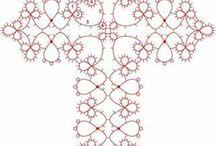 крестик схема