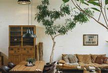 Inspirations salon-salle à manger / Mes inspirations décoration pour le salon ou la salle à manger.