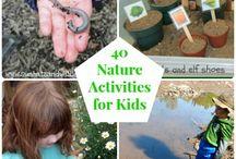 Nature activities kids