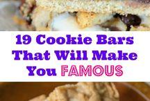 Cookies bars