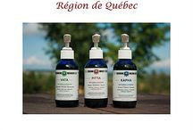 Inspirata Nature: Nos huiles ayurvediques crées avec nos plantes du  Québec