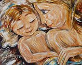 mommy and child art