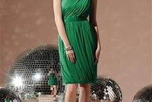 In search for the perfect green dress