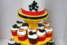 Disney Cakes / Pasteles ambientados en el mundo de Disney.