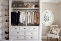 Хранение в шкафах