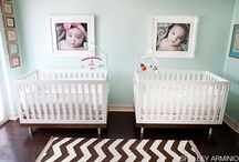 Twin nursery decorating / Gorgeous & adorable nursery decor ideas we have been collecting for you and your twins! With two precious newborns on their way, you'll need to fit more of everything in your nursery!. See our website for all the ideas, products and information you need for peacefully sleeping babies. PS - Congratulations!  www.thesleepstore.co.nz & www.thesleepstore.com.au