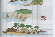 Cross Stitch landscapes