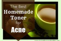 Homemade cosmetics - Acne