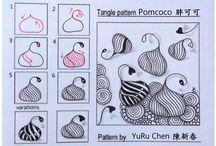 kreslené vzory
