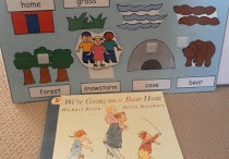 Story Book theme - Going on a Bear Hunt