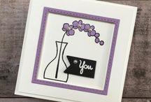 Stampin up Wunderbare Vasen / Ideen mit dem Stempelset Wunderbare Vasen von Stampin' Up!