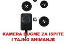 Kamera dugme. / Kamera dugme za bezican prenos slike na daljinu.