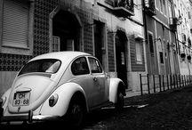 Black and White Photo City
