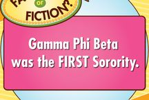 Fact or Fiction / Learn more about Gamma Phi Beta with our fun Fact or Fiction game!