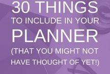 Planners & datebooks