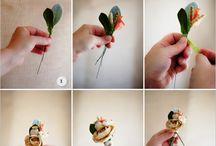 Artificial flower wedding