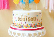 Addisons first birthday