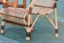 Outdoor furniture relaxed