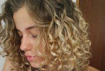 ombre hair cabelo curto encaracolado