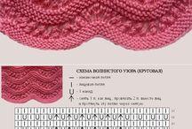 šaty pletene
