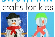 Winter + Holiday Crafts / Winter and holiday ideas and activities for children in preschool and daycare.