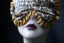 Love Me Sugar Satin Burlesque Sleep Masks / Love me sugar sleep mask in satin. Leopard print and gorgeous stripes. All with lovely bows for glamor queens out there!!!!