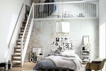 B E D R O O M / amazing beds and spreads!