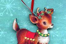 Cartoline Natale vintage