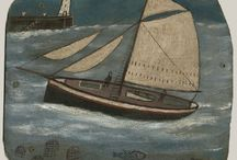 Alfred Wallis / Alfred Wallis was a Cornish fisherman and artist.  Born: August 18, 1855, Devonport, Plymouth, United Kingdom Died: August 29, 1942, Madron, United Kingdom Period: Naïve art