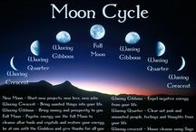 Lunar - Moon - Pagan - Witch / by The Mystic's Emporium
