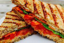 Sandwiches, Panini and Bruschetta