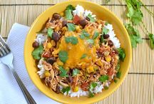 Recipes - Main Dishes / Main meal recipes for dinners. / by Erin Hansbury