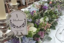 Tables of our Dreams / Beautiful tablescapes that will make you want to eat the flowers as well as your dinners!