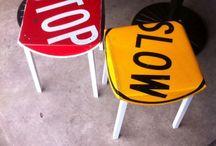Road sign furniture- art?