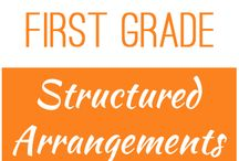 First Grade: Structured Arrangements / This board contains resources for Texas TEKS: 1.2A -   recognize instantly the quantity of structured arrangements
