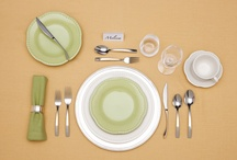 Basic Table Setting / A properly set table is a great introduction to a fabulous meal. Stylish place settings are ideal for creating an extraordinary dining experience.