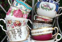 Vintage China Tea Cups / by Petrina Kovacs