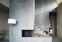 fireplace / by Sonja Balfoort