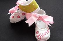 Personalized Hand Painted Birthday Shoes