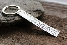 2 Sisters Handcrafted Keychains and Accessories / Personalized, hand stamped and handcrafted artisan jewelry and accessories for men and woman. Personalized never looked so good.