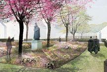 Kloosters, kerkhoven en begraafplaatsen