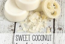 Make It - Soapy Lotiony Stuff / Recipes and DIY for soap, shampoo, lotions, balms, vapor pucks, etc. / by Krista Young
