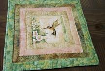 Hummingbird quilts & Blocks