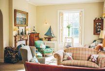 Wohnzimmer und Salon