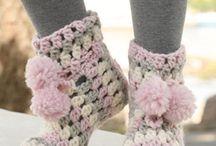 Croche para os pés! | Crochet booties