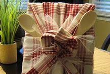 gift wrapping / by Debi Hannay