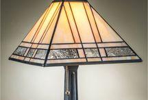 lamparas vitral