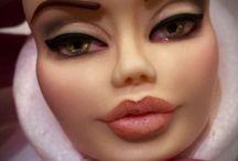 Rostos e olhos